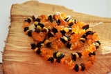 Chip amber beads strand, chip amber necklace, multicolor beads, natural amber - UAB Amber