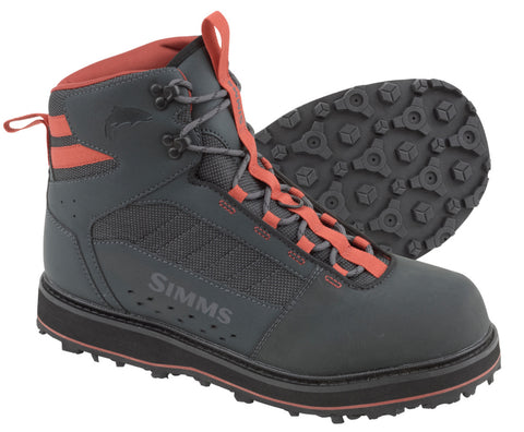 Simms: Tributary Boot Rubber-Carbon