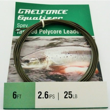 Gaelforce: Equalizer Sinking Polycore Leaders 6ft 2.6 ips