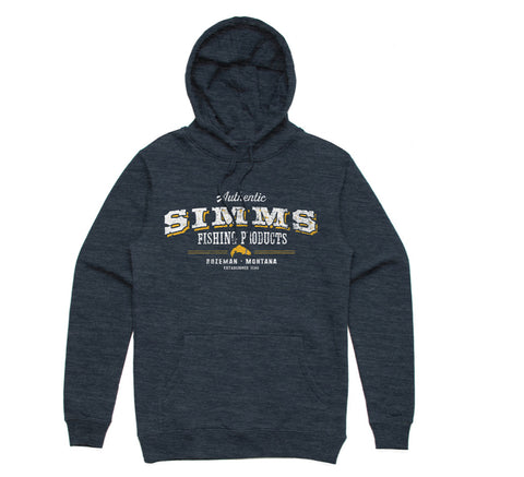 Simms: Working Class Hoody Navy Heather