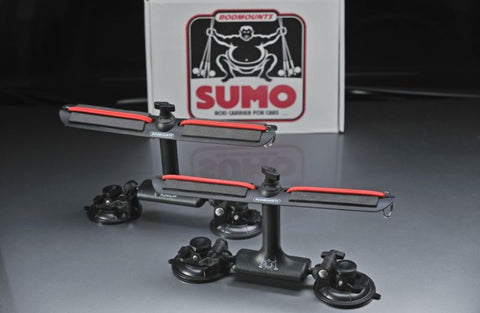 SUMO- Suction Mount Rod Carrier