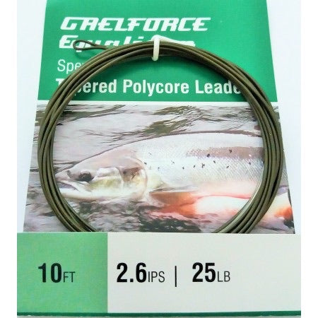 Gaelforce: Equalizer Sinking Polycore Leaders 10ft 2.6 ips