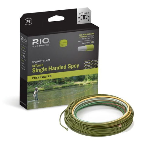 RIO Intouch Single Hand Spey Fly Line WF8F/H/I