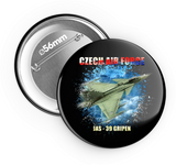 Airforce I. Gripen - odznak 56 mm - Forces.Design