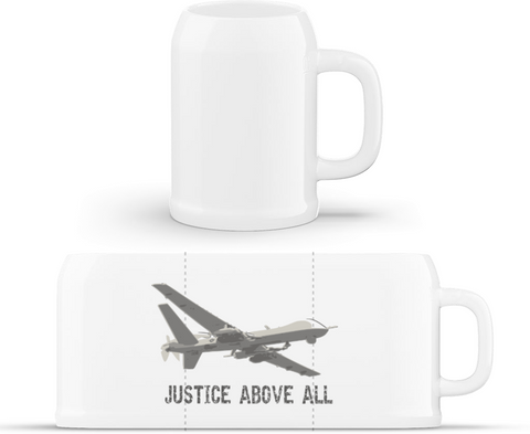 Justice - půllitr Beer mug classic - Forces.Design