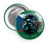 1918 - 2018 II. - odznak 56 mm - Forces.Design