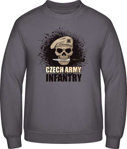Czech infantry - pánská mikina BC men sweatshirt - Forces.Design