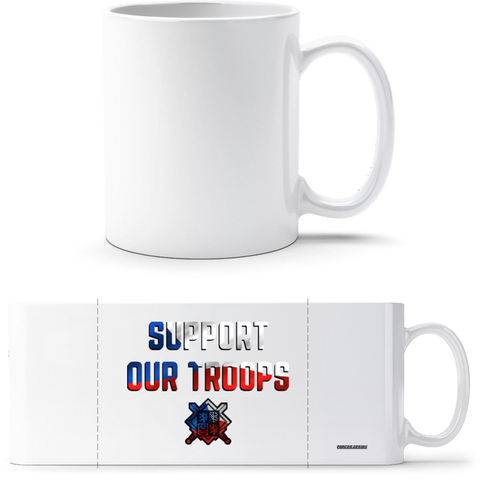 Support our troops - hrnek classic - Forces.Design