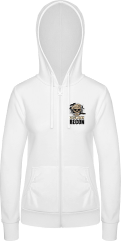 Recon I. - dámská mikina BC Woman Wonder Zip Hoodie - Forces.Design