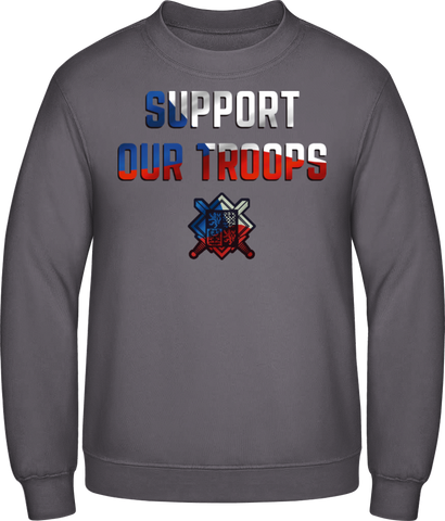 Support our troops - pánská mikina BC