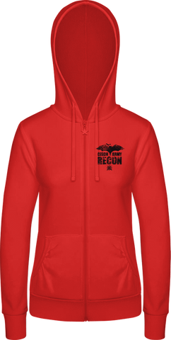 Recon II. - dámská mikina BC Woman Wonder Zip Hoodie - Forces.Design