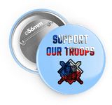 Support our troops - odznak 56 mm , 6ks