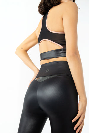 VENUS LEGGINGS - BLACK PEARL