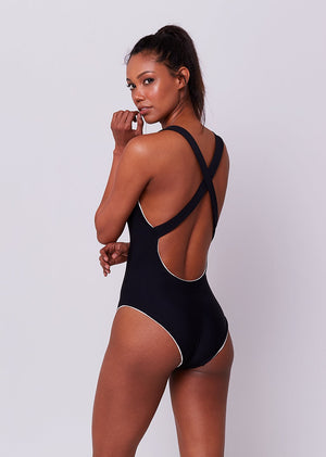 SIREN SWIMSUIT - BLACK PEARL