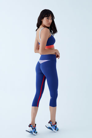 FUNFIT LEGGING - BLUEBERRY