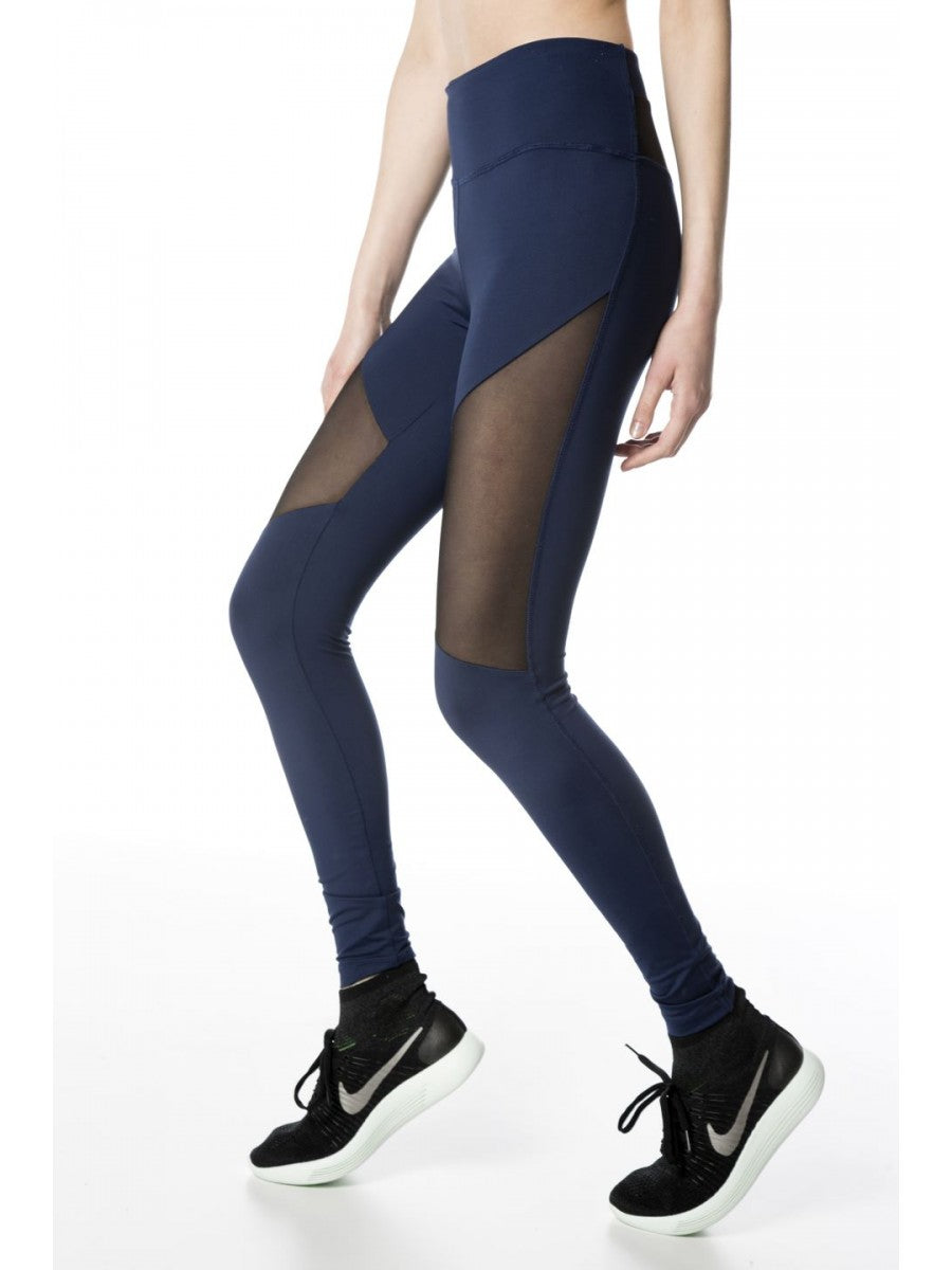 Kicker Legging - Navy/Liquid Black