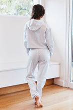 Load image into Gallery viewer, Ash White Cropped Hoody