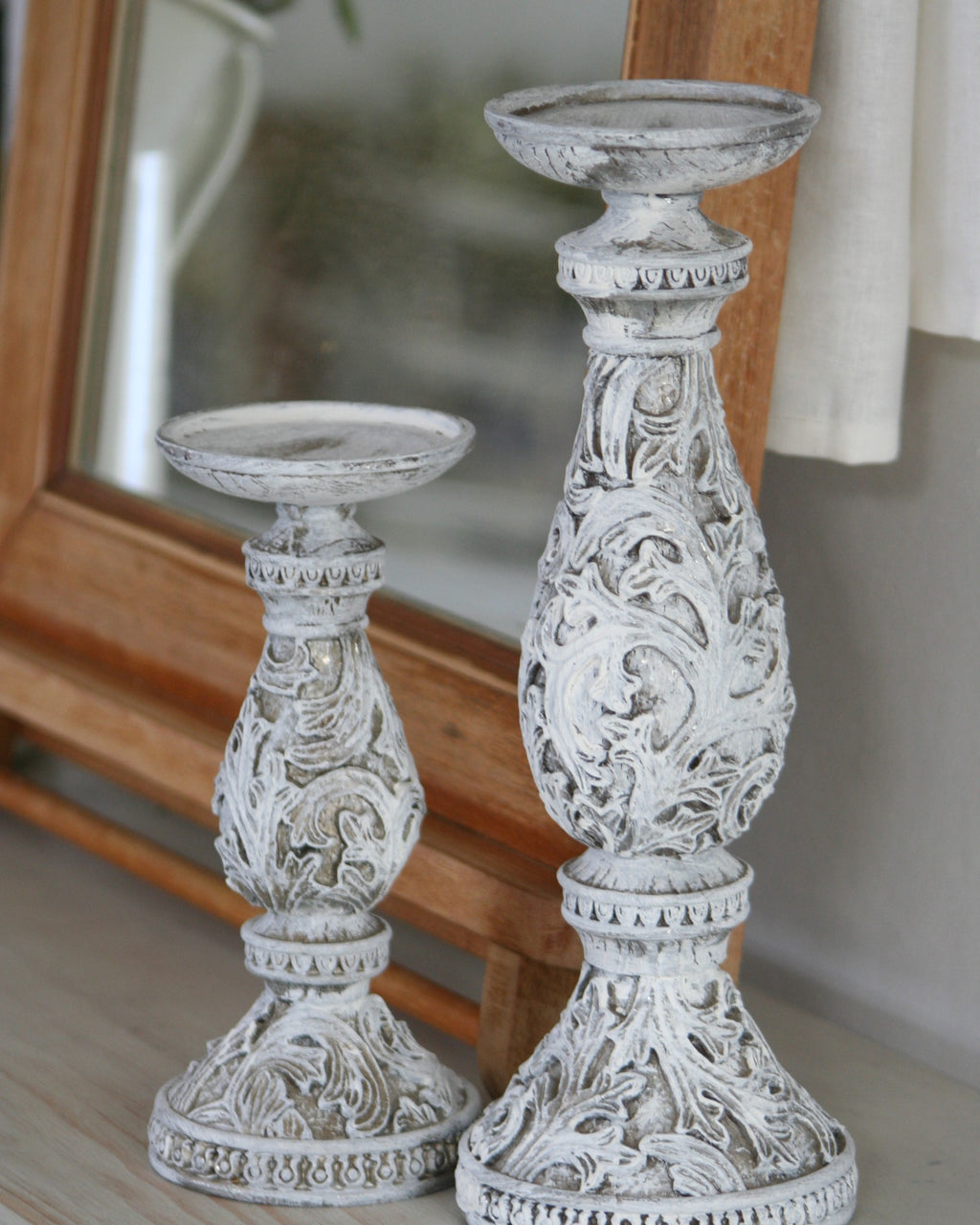 Candle sticks French country