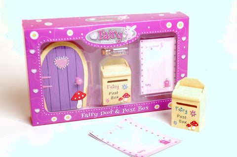 Fairy Friendship Door & Post Box Set