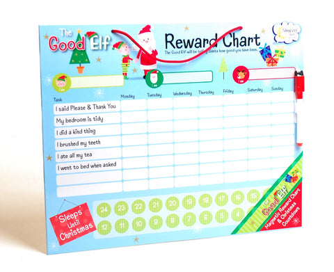 The Good Elf Magnetic Reward Chart & Countdown