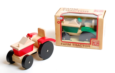 Wooden Farm Tractor
