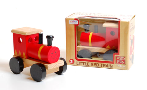 Wooden Little Red Train