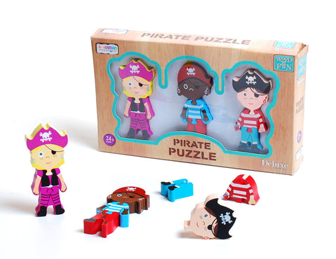 Wooden Pirate Puzzle