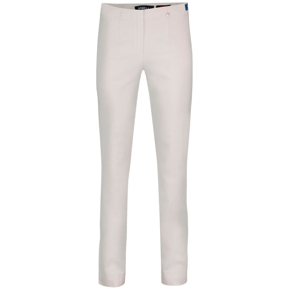 Robell Marie Light Grey F/L Trousers | The LBD Boutique & Trouser Shop