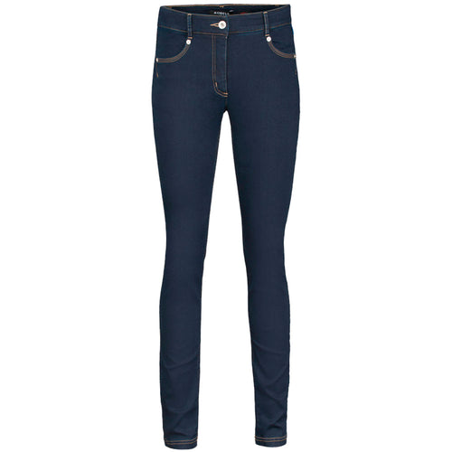 Robell Star Dark Blue Super Skinny Jeans | The LBD Boutique & Trouser Shop