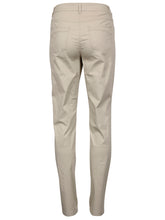 Brandtex Victoria Beige Cotton Trousers - Clearance | The LBD Boutique & Trouser Shop