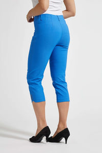 Laurie Dora Capri Trousers in Bright Blue | The LBD Boutique & Trouser Shop