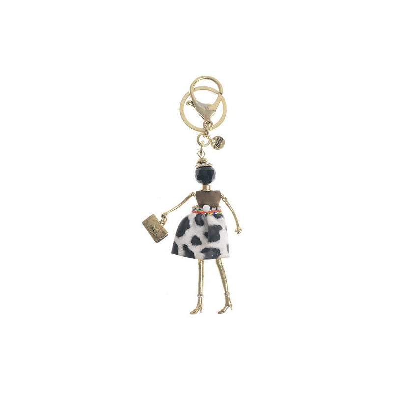 Sonata Dolly Keyring / Charm in a Choice of Colours 42196 | The LBD Boutique & Trouser Shop
