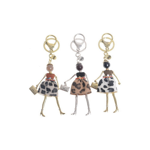 Sonata Dolly Keyring / Handbag Charm in a Choice of Colours | The LBD Boutique & Trouser Shop