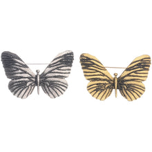 Sonata Butterfly Broach in Silver or Gold 47506 | The LBD Boutique & Trouser Shop