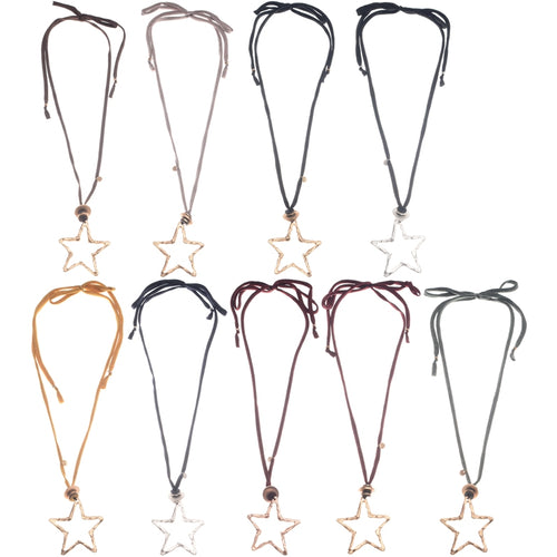 Sonata Star Necklace in a Choice of Colours 47803 | The LBD Boutique & Trouser Shop