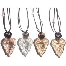 Sonata Leaf  Necklace in a Choice of Colours 47823 | The LBD Boutique & Trouser Shop