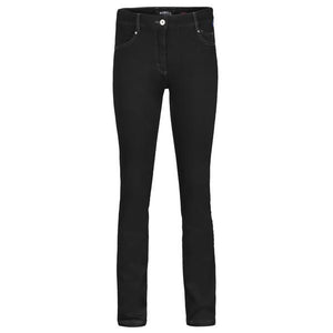 Robell Elena Stretch Denim Jeans in Black or Dark Blue | The LBD Boutique & Trouser Shop
