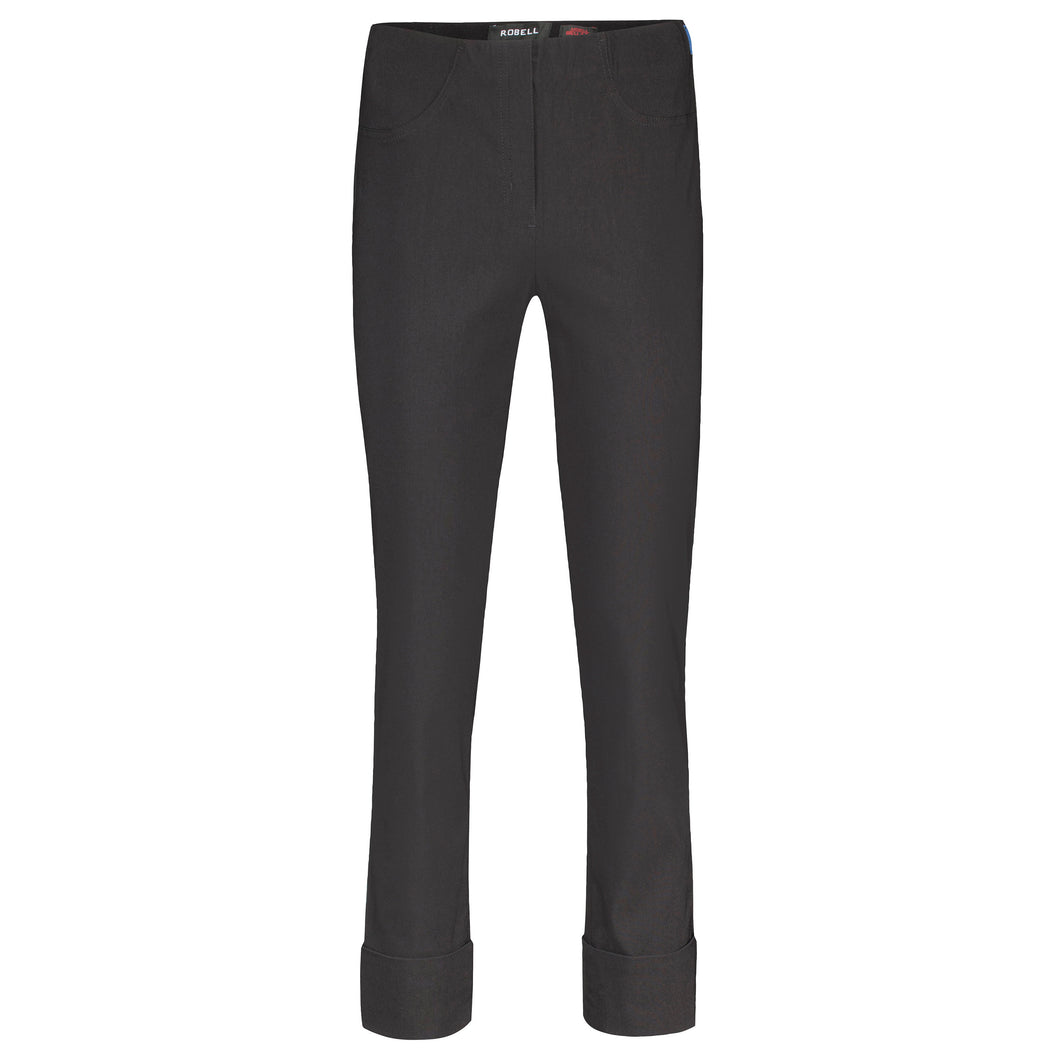 Robell Bella 09 Black Ankle Trousers | The LBD Boutique & Trouser Shop