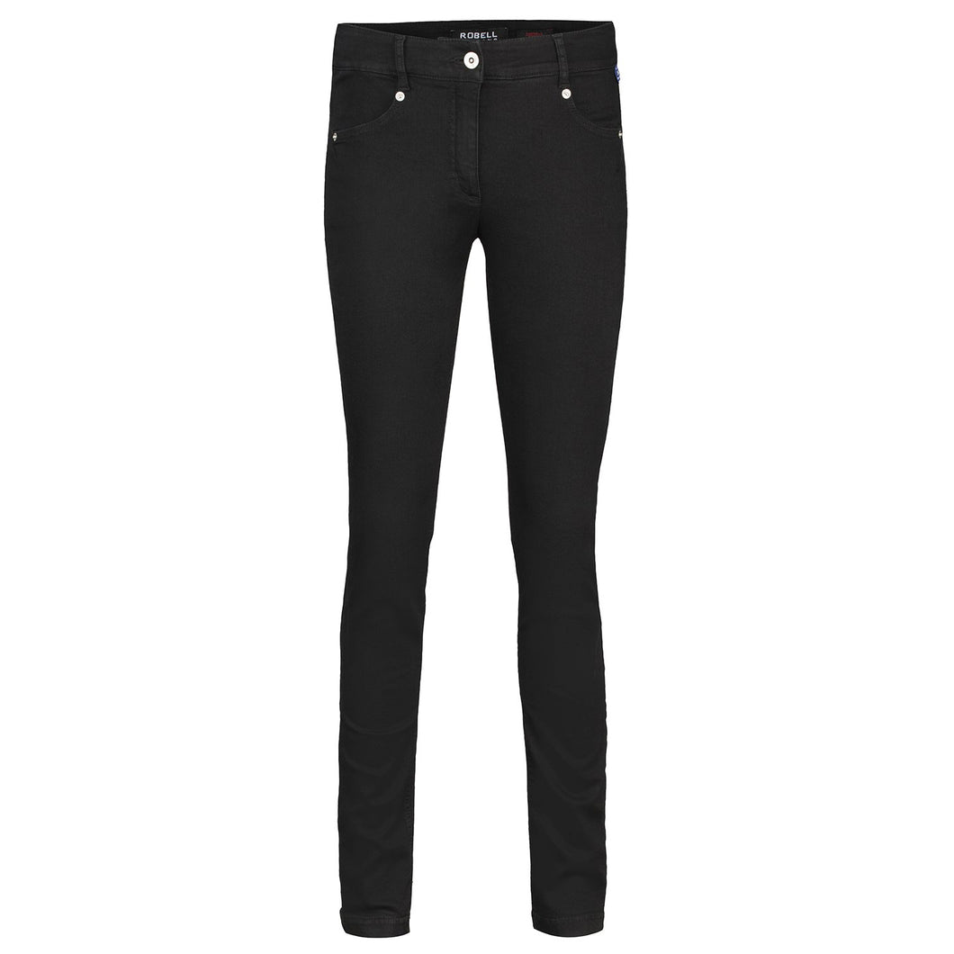 Robell Star Super Skinny Jeans in Black or Dark Blue | The LBD Boutique & Trouser Shop