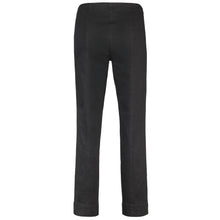Robell Marie Black Stretch Denim F/L Trousers | The LBD Boutique & Trouser Shop