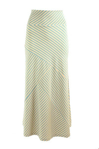 Zilch Green + Yellow Stripe Maxi Skirt | The LBD Boutique & Trouser Shop