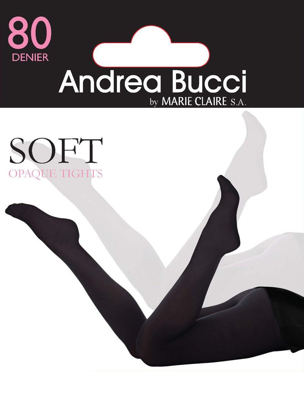 Andrea Bucci Black Opaque Tights in 80 Den | The LBD Boutique & Trouser Shop