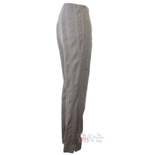 Robell Marie Seersucker Taupe F/L Trousers Size 10 Only | The LBD Boutique & Trouser Shop