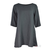 Cut Loose 3/4 Sleeve Grey Tunic 4407819 | The LBD Boutique & Trouser Shop