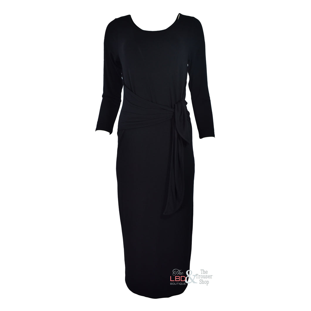 APFB Mercedes Black Long Sleeve Dress | The LBD Boutique & Trouser Shop