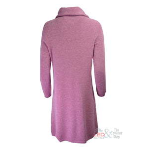 Deck by Decollage Long Orchid Pink Knitted Tunic | The LBD Boutique & Trouser Shop