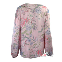 N & Willow Lily Star Pale Pink L/S Top | The LBD Boutique & Trouser Shop
