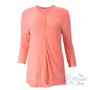 Cut Loose Marmalade V Neck Pullover - 6247732
