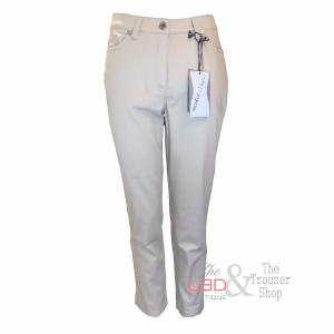 Michele Ankle Trousers in Beige or Black