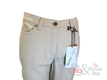 Michele Beige Ankle Trousers - Size UK 8 Only | The LBD Boutique & Trouser Shop